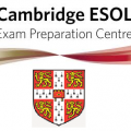 Cambridge ESOL exam preparation centre - small logo