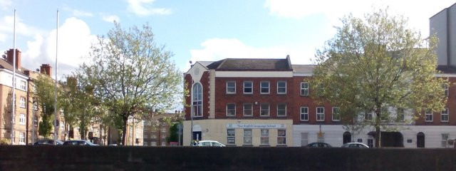 Your English Language School in Usher's Quay, Dublin 8 - view across the Liffey river